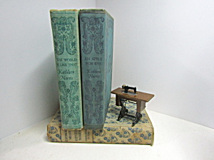 Kathleen Norris Book Collectable Decorative Set 6