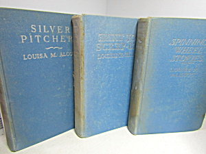 Vintage Book Set Louisa May Alcott Collectable
