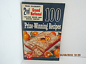 Vintage Booklet Pillsbury 2th Grand National Cook Book