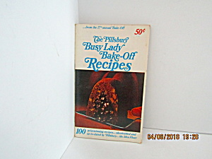 Vintage Booklet Pillsbury 17th Annual Bakeoff Cook Book