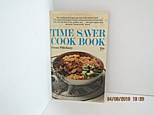 Vintage Booklet Pillsbury Time Saving Cook Book