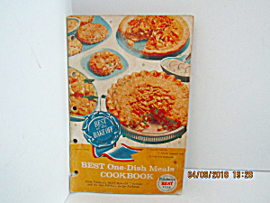 Vintage Booklet Pillsbury Best One-dish Meals Cook Book