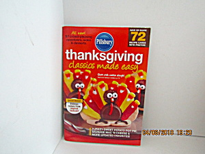 Vintage Booklet Pillsbury Thanksgiving Made Easy
