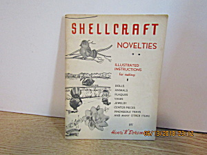 Vintage Booklet Shell Craft Novelties