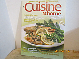 Special Issue Of Cuisine At Home Magazine