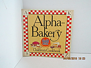 Vintage Booklet Alpha-bakery Children's Cookbook