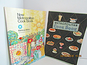 Vintage Booklet Set Of Two Metropolitan Cookbooks