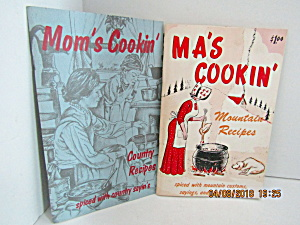 Vintage Set Of Two Mom's Cookin' Country & Mountain