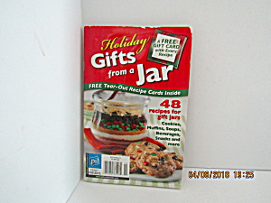 Vintage Booklet Holiday Gifts In A Jar