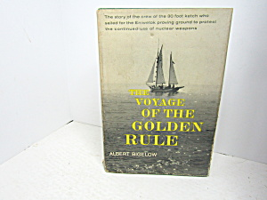 Vintage Book The Voyage Of The Golden Rule