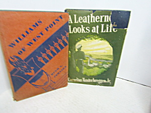 Vintage Book Set Williams Of West Point & A Leatherneck
