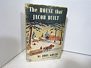 Vintage Book White House The House That Jacob Built