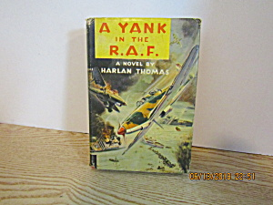 Vintage Book A Yank In The R.a.f.