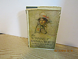 Vintage Book The Winning Of Barbara Worth