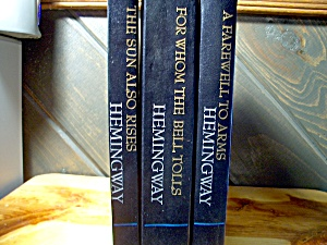Ernest Hemingway Three Book Set