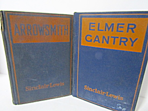 Sinclair Lewis Novels Arrowsmith & Elmer Gantry