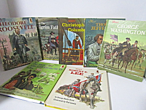 Vintage Random House Step-up History Book Set