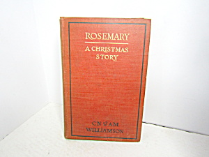 Vintage Romance Book Rosemary A Christmas Story