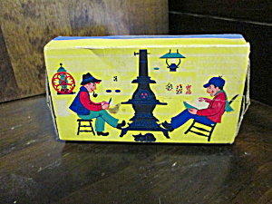 Vintage Ohio Blue Tip Matches Box Country Store