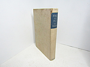 Vintage Poetry Book Fire And Ice