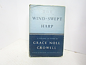 Vintage Poetry Book The Wind Swept Harp