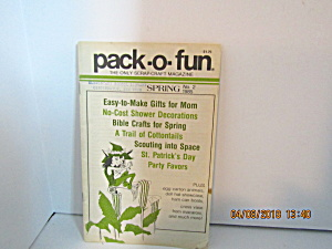 Vintage Pack-o-Fun Booklet  Spring 1985 #2 (Image1)