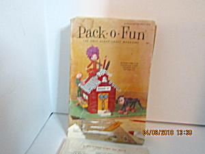 Vintage Pack-o-fun Booklet Aug/sept 1974