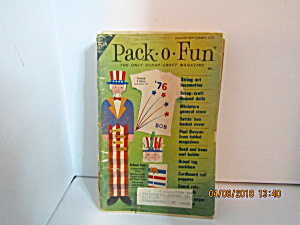 Vintage Pack-o-fun Booklet Aug/sept 1975