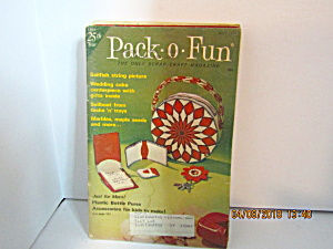 Vintage Pack-o-fun Booklet May 1976