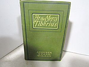 Vintage Rare Book At The Marcy Of Tiberius