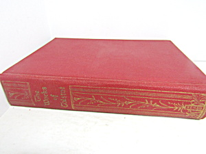 Vintage Rare Book The Works Of Tolstoi