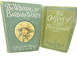 Vintage Book Set By Harold Bell Wright