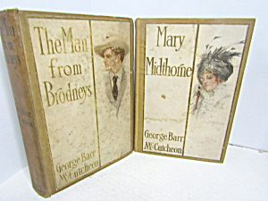 Vintage Book Set By George Barr Mccutcheon