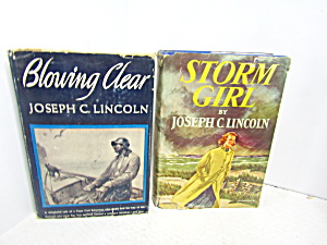 Vintage Book Set By Joseph C. Lincoln