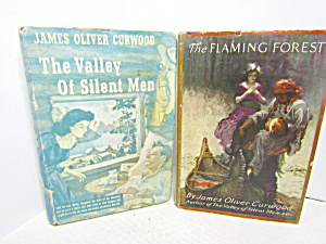 Vintage Book Set By James Oliver Curwood