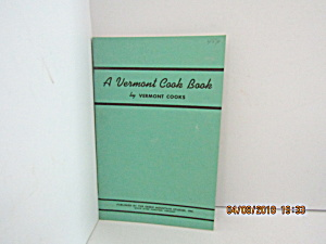 Vintage Booklet A Vermont Cook Book