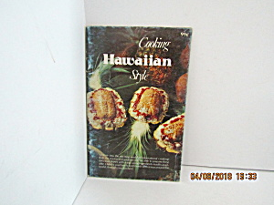 Vintage Booklet Cooking Hawaiian Style