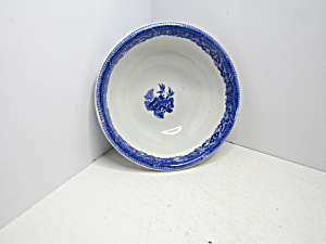 Buffalo China Oriental Blue Willow Cereal Bowl & Buffalo - Antique China Antique Dinnerware Vintage China Vintage ...