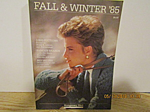 Vintage Montgomery Ward Fall & Winter Catalog