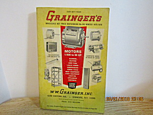 Vintage Grainger's Wholesale Motorbook #343 Winter 1975