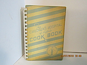 The Children's Hospital Of Buffalo Cookbook