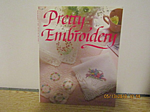 Vintage Craft Book Pretty Embroidery #17753