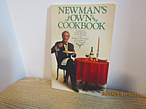 Vintage Cookbook Newman's Own Cookbook