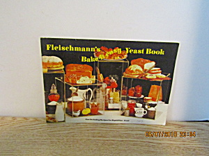 Vintage Cookbook Fleishmann's Bake-it-easy Yeast Book