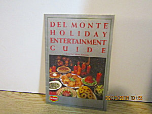 Vintage Del Monte Holiday Entertainment Guide