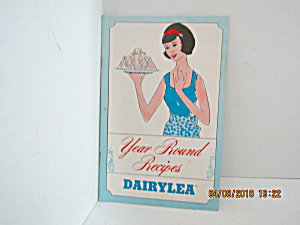 Vintage Booklet Year Around Recipes From Dairylea