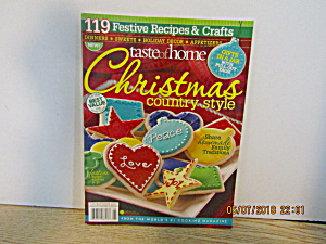 Taste Of Home Christmas Country Style 2009