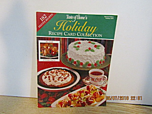 Taste Of Home Holiday Recipe Card Collection 2004