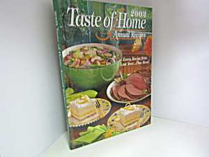 Taste Of Home Annual Recipes 2003