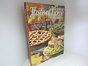 Taste Of Home Annual Recipes 2008